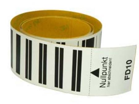 Baakfolie FD 1 meter met barcode-0