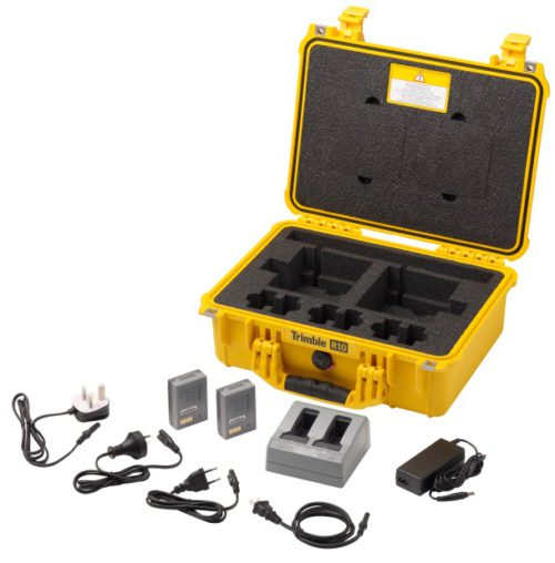 Trimble R10 koffer en oplaad accessoires