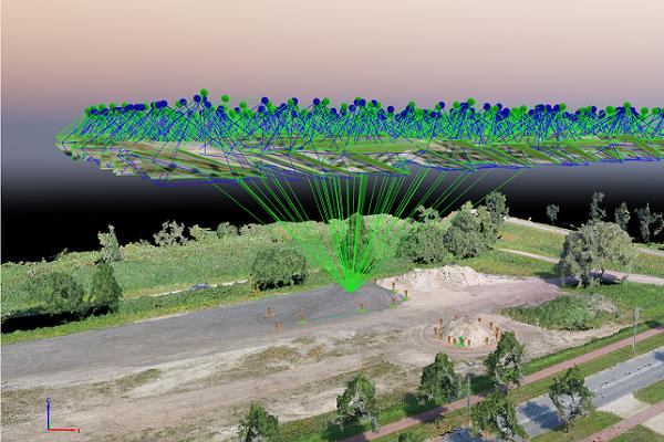 Met Pix4D converteert u data eenvoudig naar geogerefeerde 3D modellen