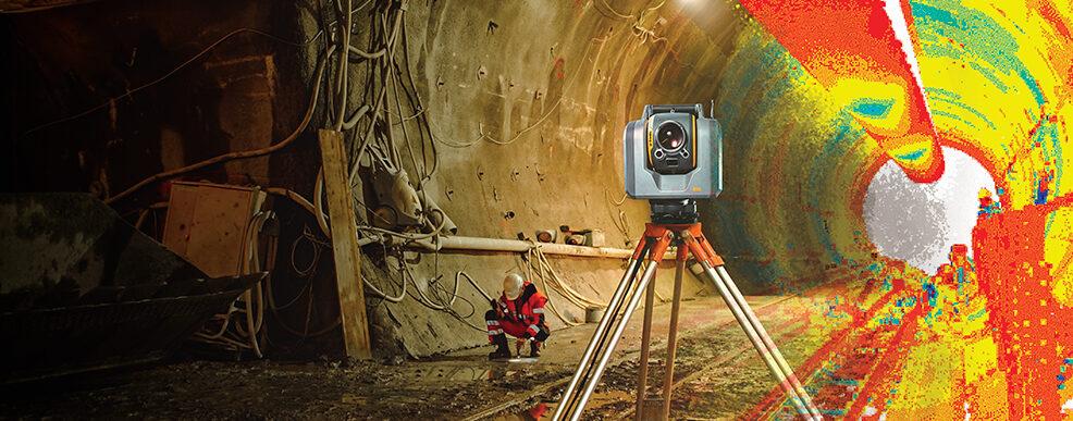 Efficiënt meten in de tunnelbouw